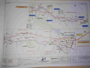 Mysore Madikeri Economic Corridor Expressway Alignment