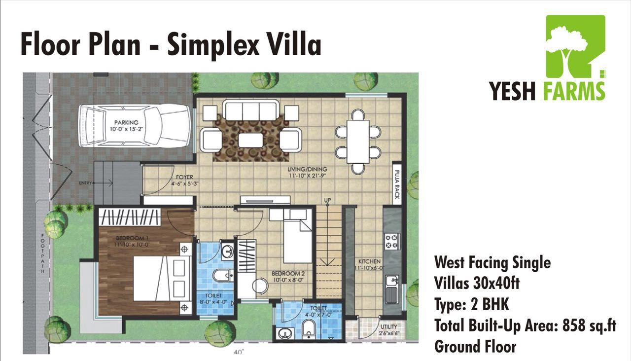 Villas houses properties in mysore yesh developers for Washington state approved house plans